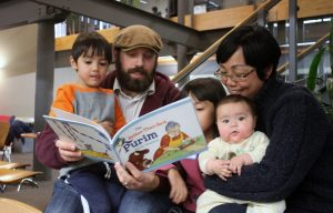 PJ Library provides free books for children & young families.